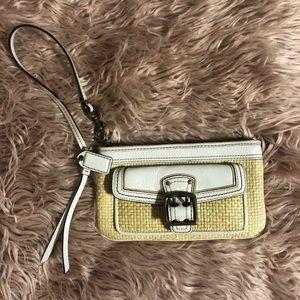 Coach Bags - 🔸3/$25🔸Coach Wristlet/Makeup Pouch (Free Gift)